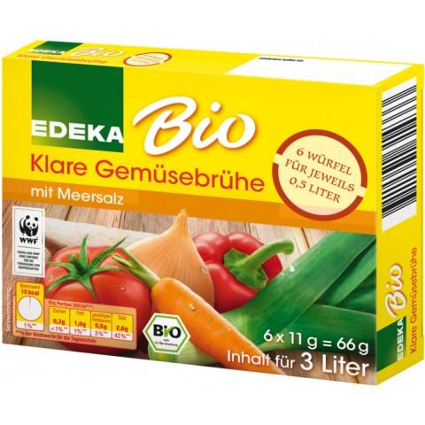 EDEKA Bio Klare Gemüsebrühe-Würfel