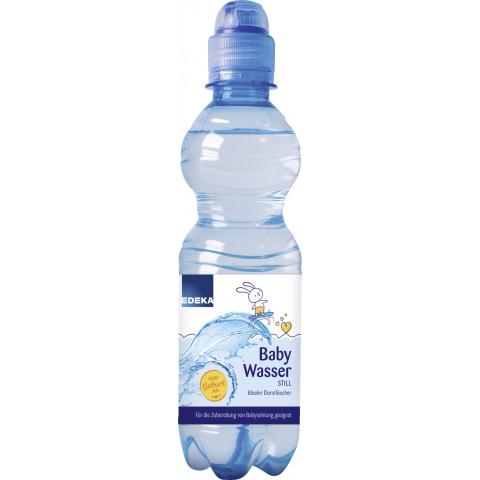 EDEKA Baby Wasser still Sportcap 0,33l DPG