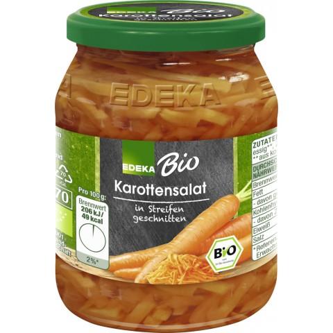 EDEKA Bio Karottensalat in Streifen geschnitten