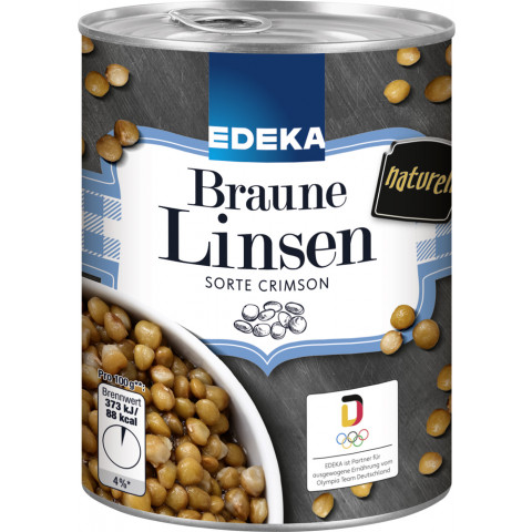 EDEKA Braune Linsen 400G