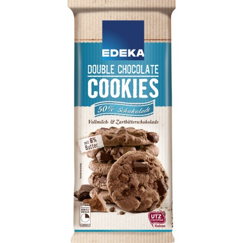 EDEKA Cookie double chocolate