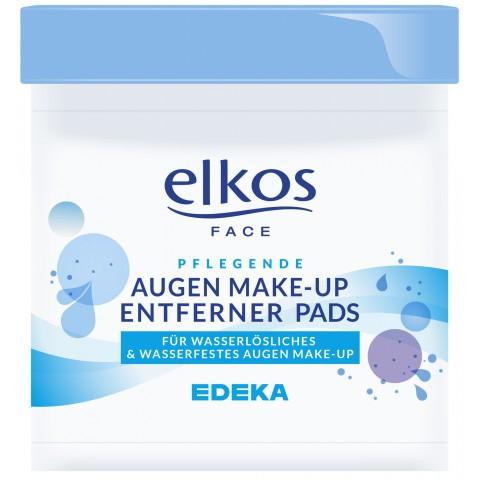 EDEKA elkos Augen Make-up Entferner Pads 100ST