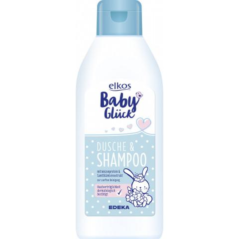 elkos Babyglück Dusche & Shampoo 250 ml