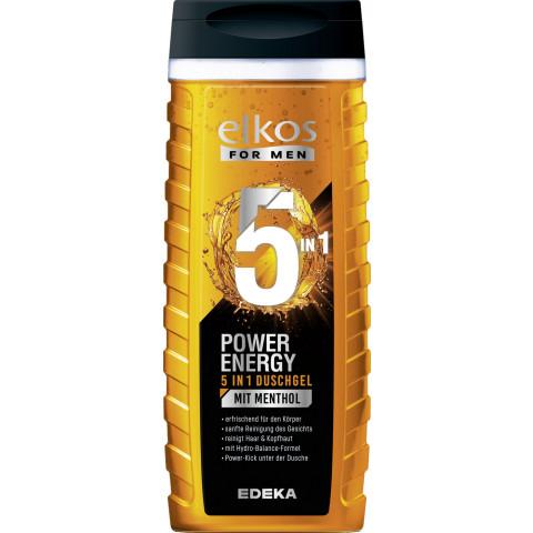 elkos For Men Power Energy 5in1 Duschgel 300ML