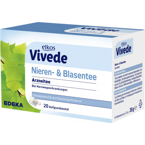 elkos VIVEDE Nieren- & Blasentee 20x 1,75 g