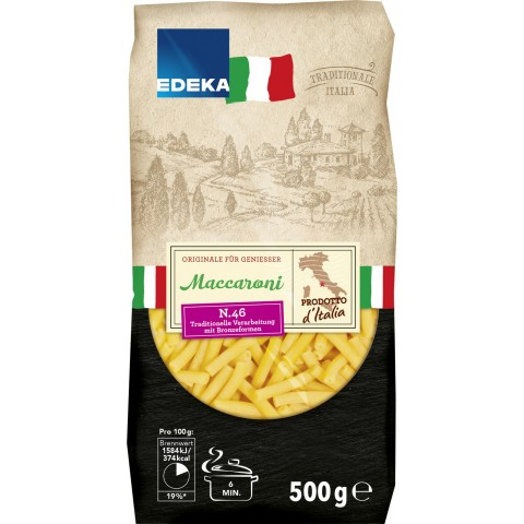 EDEKA Italia Nudeln Maccaroni