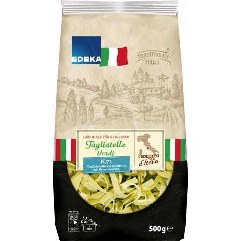 EDEKA Italia Nudeln Tagliatelle grün 500 g
