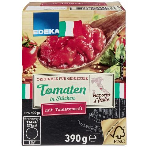 EDEKA Italia Tomaten in Stücken Classic