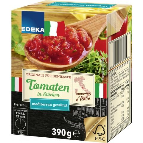 EDEKA Italia Tomaten in Stücken Mediterran gewürzt
