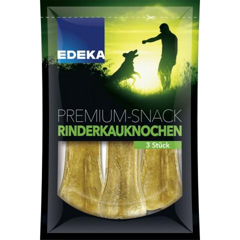 Edeka Premium Snack Rinderkauknochen 3 Stück