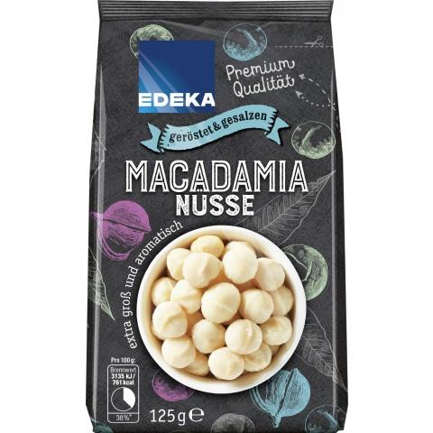 EDEKA Macadamias geröstet & gesalzen