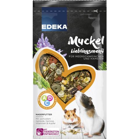 EDEKA Muckel Lieblingsmenü für Meerschweinchen und Hamster 1KG