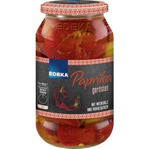 EDEKA Paprika geröstet 520 g