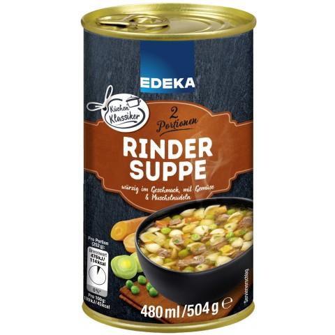 Edeka Rindersuppe 480 ml