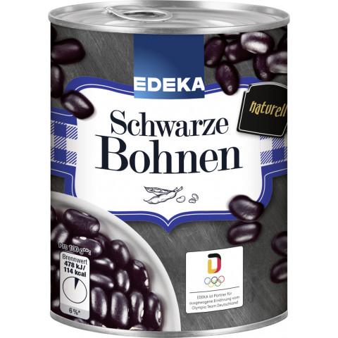 EDEKA Schwarze Bohnen 400G