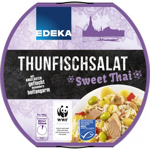 EDEKA Thunfischsalat Sweet Thai 210 g