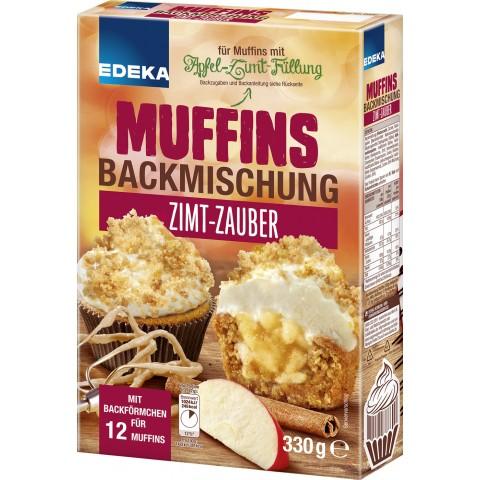 EDEKA Muffins Backmischung Zimt-Zauber