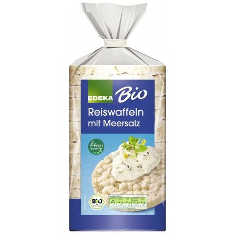 EDEKA Bio Reiswaffeln mit Meersalz 100 g