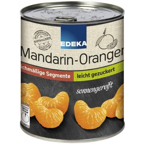 EDEKA Mandarin-Orangen leicht gezuckert große Dose 850 g