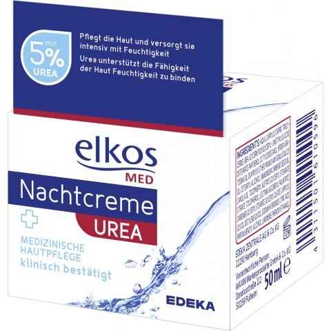 Elkos Med Nachtcreme + Urea 50 ml