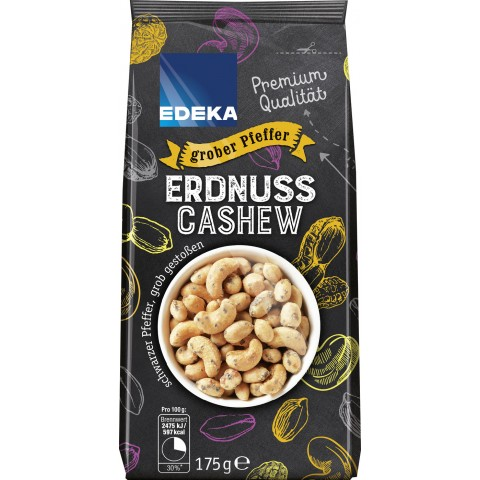 EDEKA Erdnuss Cashew grober Pfeffer