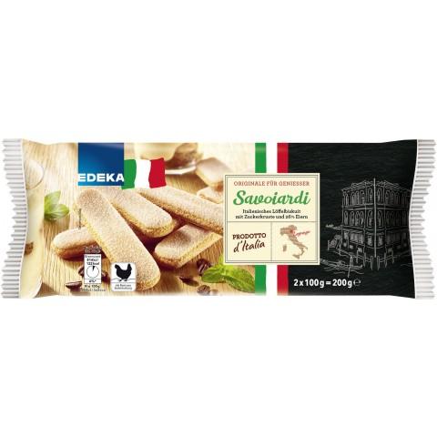 EDEKA Savoiardi Italienisches Löffelbiskuit 2x 100 g