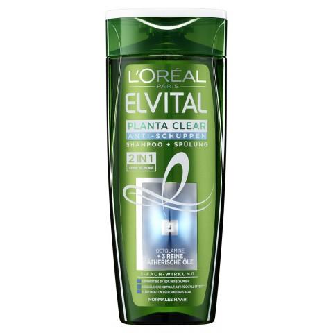 Loreal Elvital Planta Clear 2 in 1 Anti-Schuppen Shampoo+Spülung