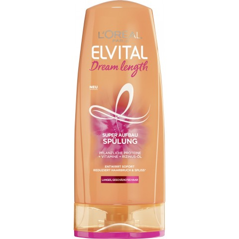 L'Oreal Elvital Dream Length Super Aufbau Spülung 250 ml