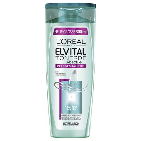 L'Oreal Elvital Tonerde Absolue Pflegeshampoo 0,3 ltr