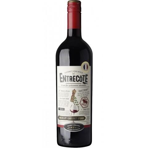 Gourmet Père & Fils Entrecôte Merlot Cabernet Syrah 0,75L