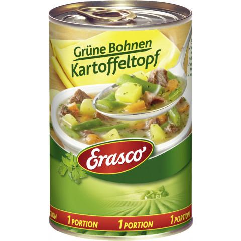 Erasco 1 Portion Grüne Bohnen Kartoffeltopf 400 g
