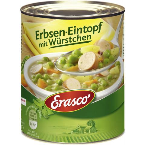 Erasco Erbsen-Eintopf mit Würstchen 800 g