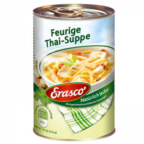 Erasco Feurige Thai-Suppe 390ML