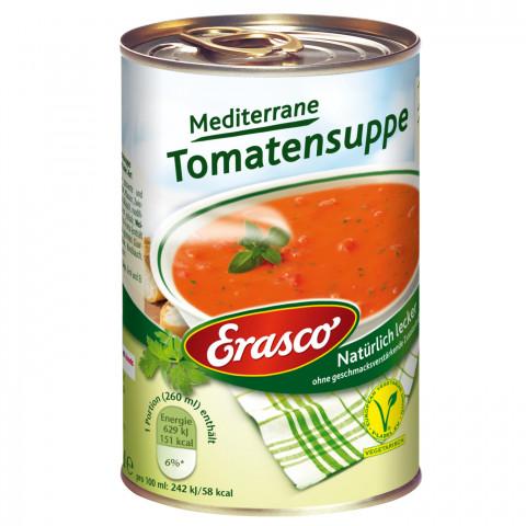 Erasco Mediterrane Tomatensuppe 390ML