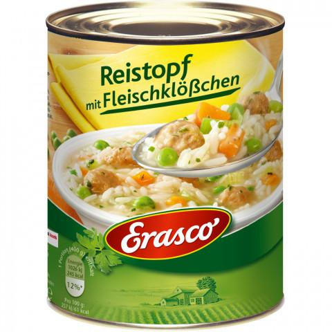 Erasco Reistopf mit Fleischklößen 800 g