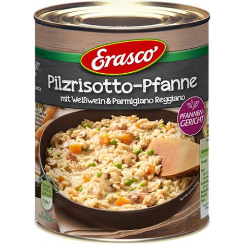 Erasco Pilzrisotto-Pfanne mit Weißwein & Parmigiano Reggiano 800G