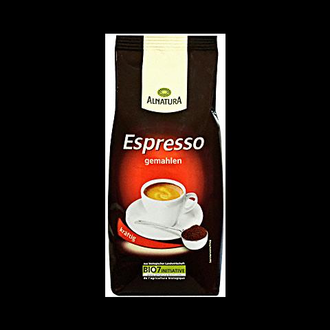 Alnatura Bio Espresso gemahlen