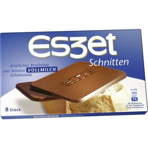 Eszet Schnitten Vollmilch 75 g