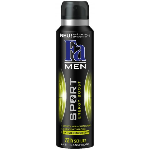 Fa Deospray Men Sport Energy Boost