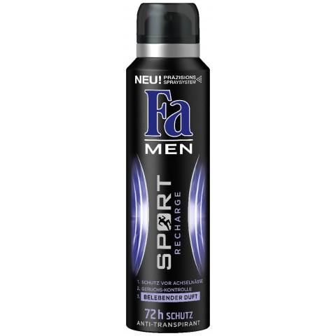 Fa Deospray Men Sport Recharge Anti-Transpirant