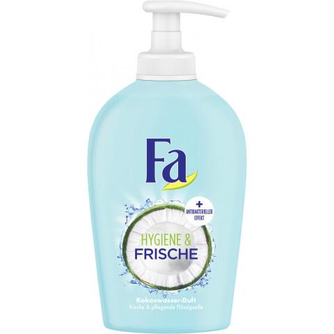 Fa Flüssigseife Hygiene & Frische Kokoswasser-Duft 250ml