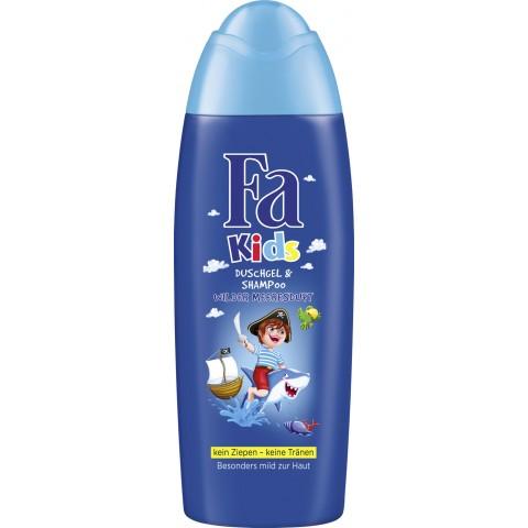 Fa Kids Duschgel & Shampoo Pirat Wilder Meeresduft 250 ml
