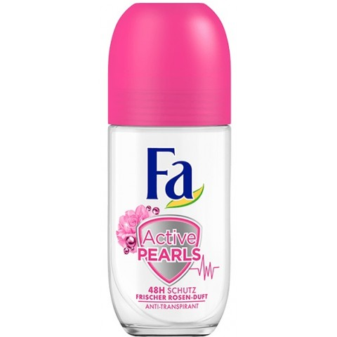 Fa Anti-Transpirant Roll-On Active Pearls Rose Fresh
