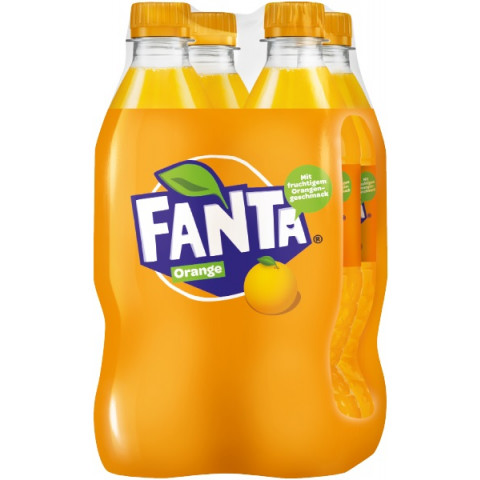 Fanta Orange 4x 0,5 ltr PET