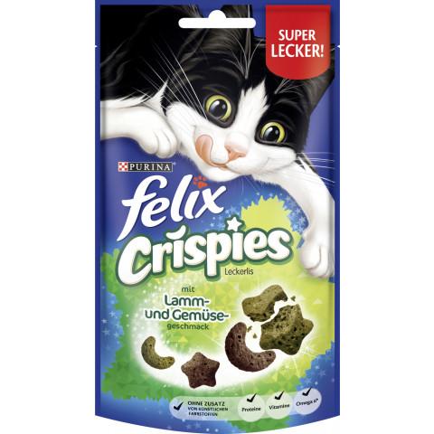 Felix Crispies Leckerlis mit Lamm- und Gemüsegeschmack 45G