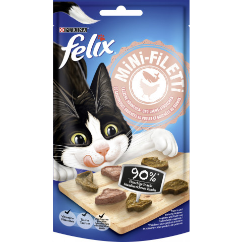 Felix Mini-Filetti Huhn & Lachs 40G