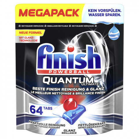 Finish Powerball Quantum Ultimate Tabs Megapack 64ST
