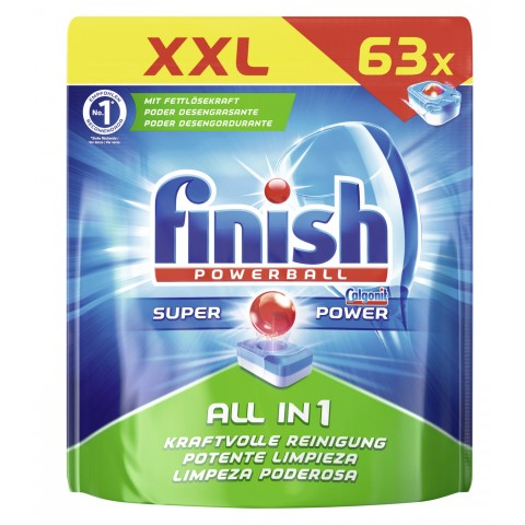 Finish Powerball Super Power All in 1 Spülmaschinentabs