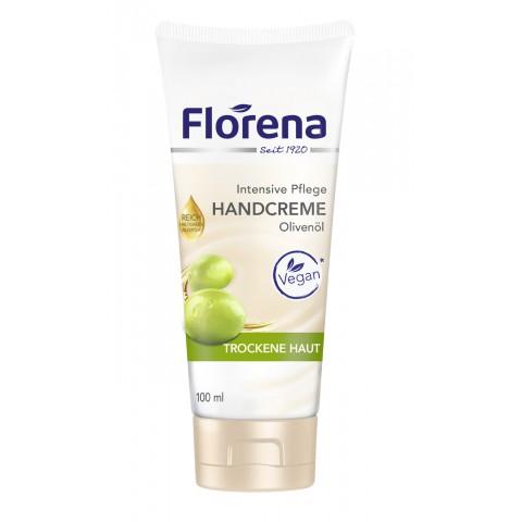 Florena Handcreme Olivenöl für trockene Haut 100 ml