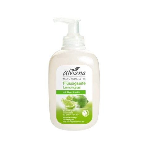 Alviana Flüssigseife Lemongras mit Bio-Limette